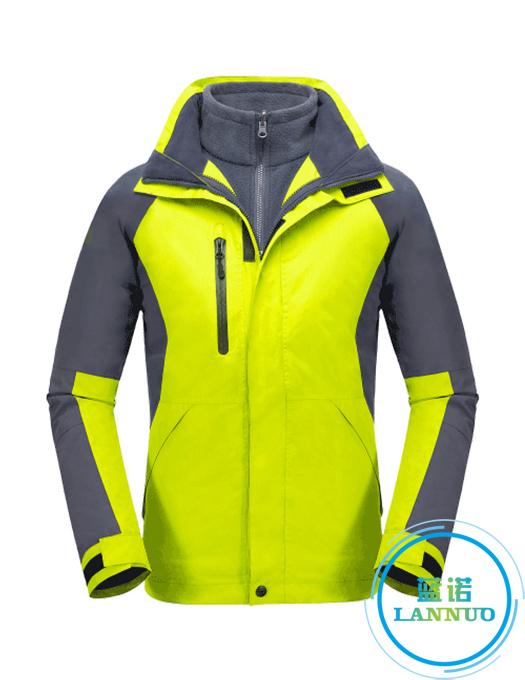 CFY013户外冲锋衣三合一两件套