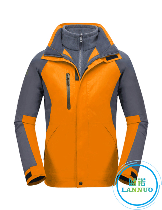 CFY014户外冲锋衣三合一两件套