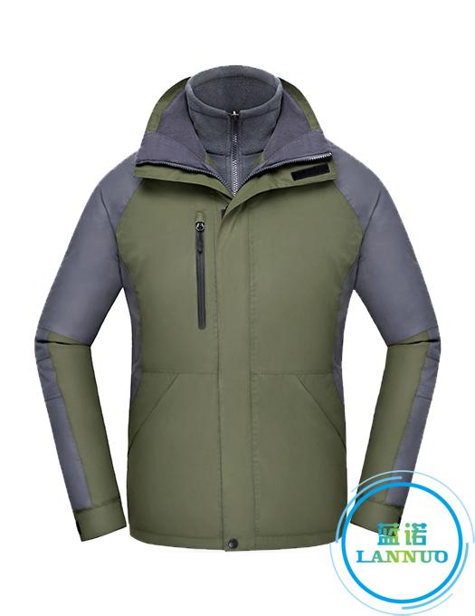 CFY016户外冲锋衣三合一两件套