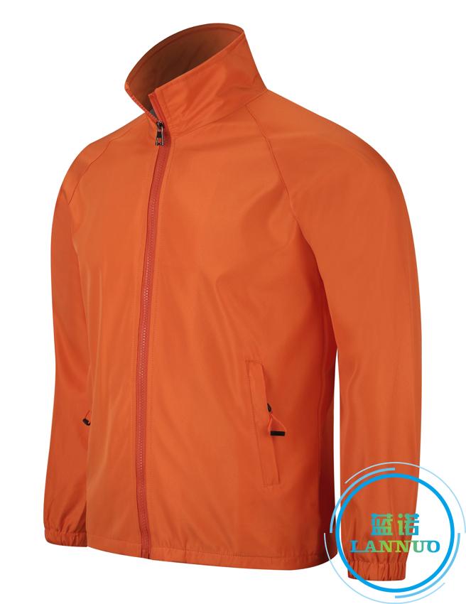 602#水蜜桃复合风衣(橙色)