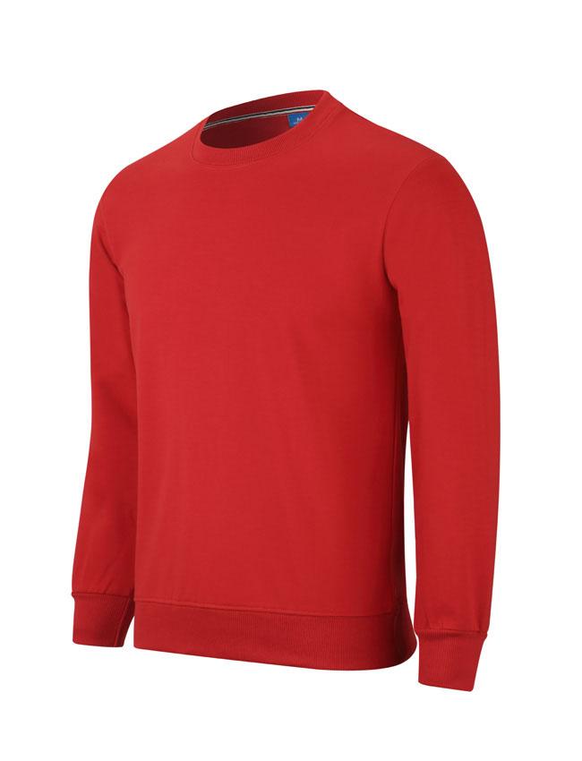 WY806红色卫衣订做卫衣定制厂家