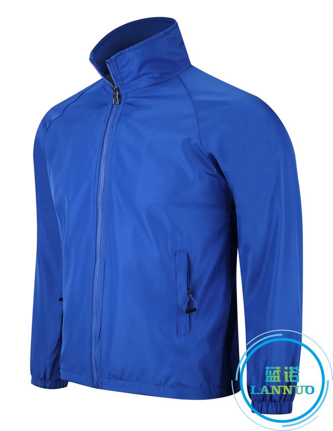 602#水蜜桃复合风衣(彩蓝)