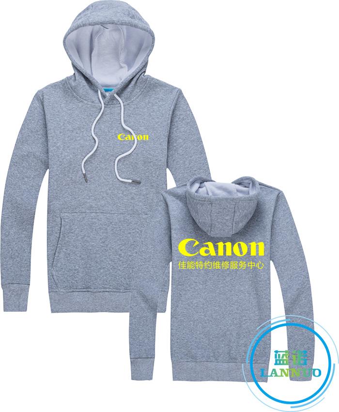 灰色卫衣订做卫衣工作服定制厂家