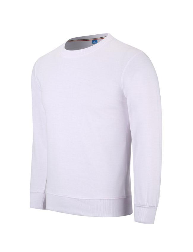 WY806白色卫衣订做卫衣定制厂家