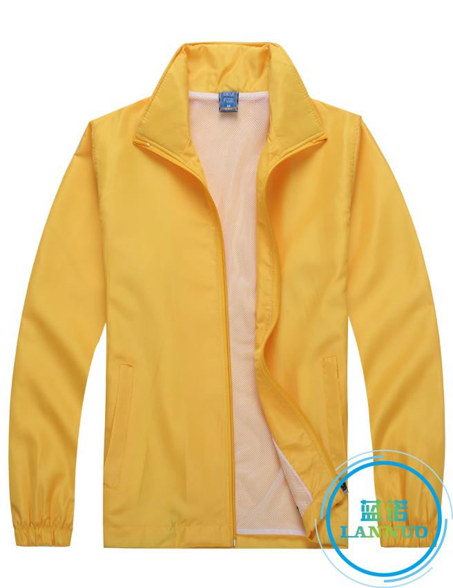 601#水蜜桃风衣(黄色)