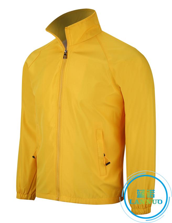602#水蜜桃复合风衣(黄色)