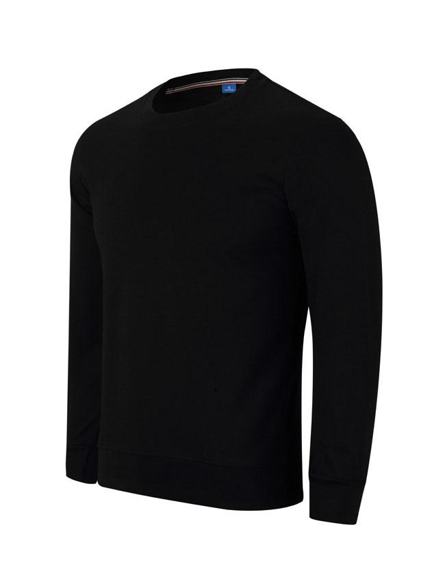 WY806黑色卫衣订做卫衣定制厂家